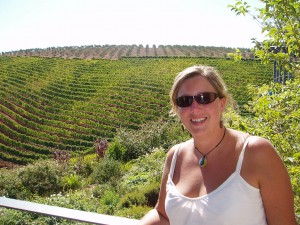 Me by the Vineyard